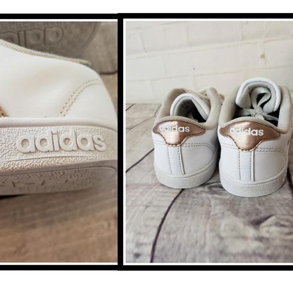 adidas neo baseline rose gold
